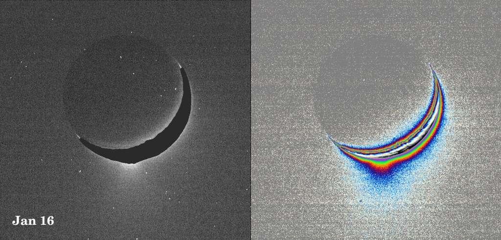 Les fontaines glacées d'Encelade