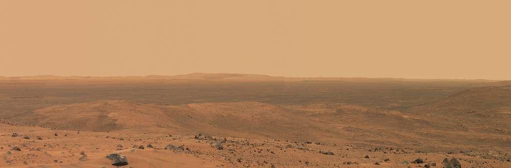Spirit : vue de Haskin Ridge