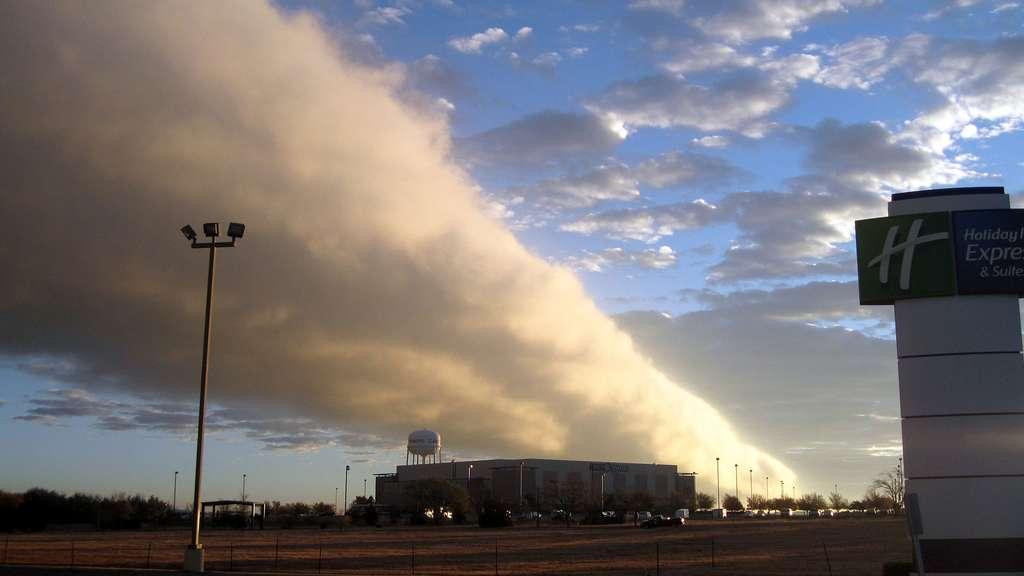 Le morning glory cloud, un impressionnant rouleau nuageux