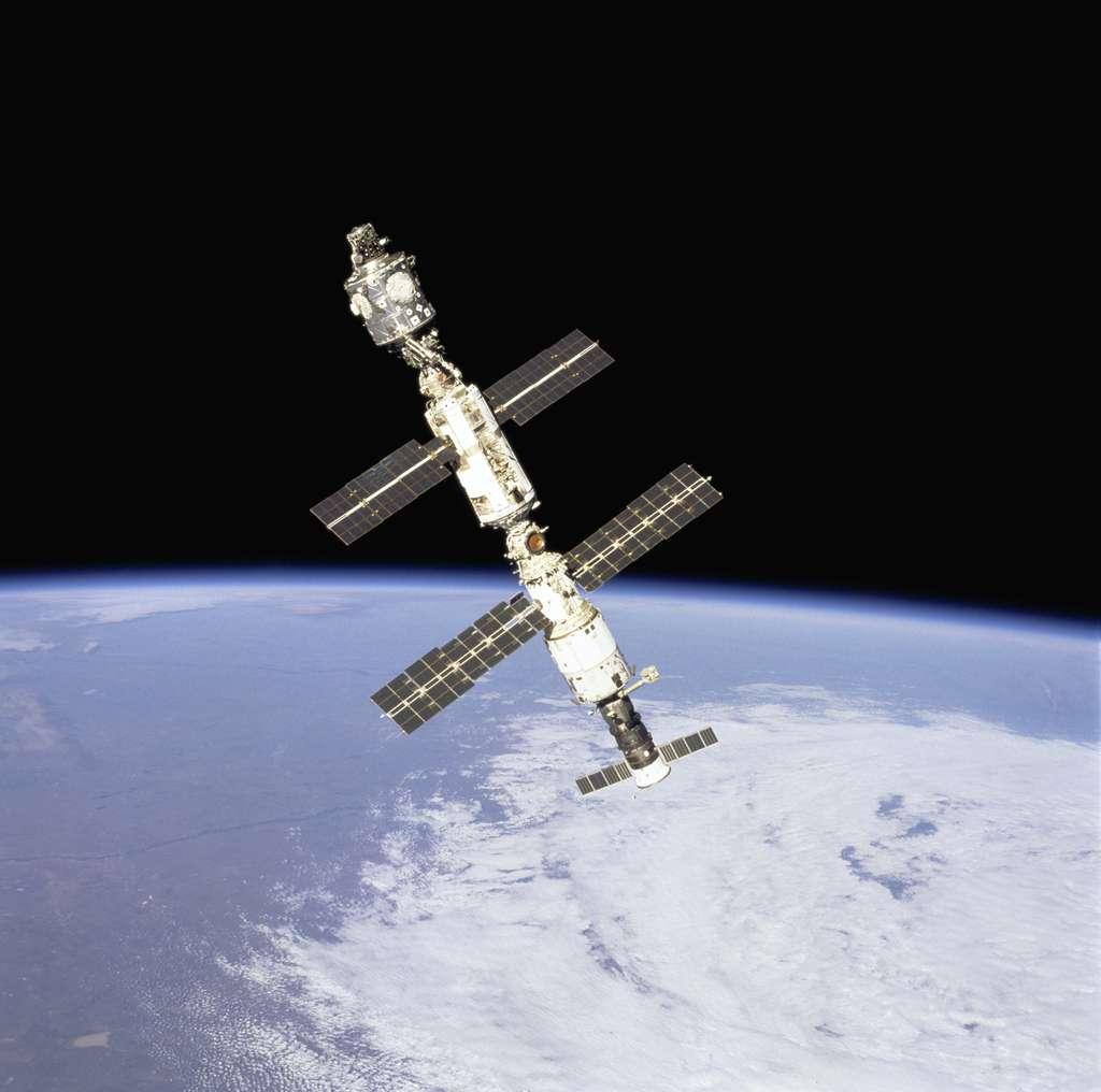 En septembre 2000, la Station est composée de 3 modules