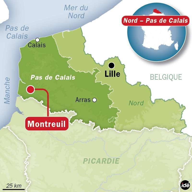 Le Pas-de-Calais a subi d'intenses intempéries et inondations à deux reprises la semaine dernière. La vigilance météo vient d'être levée. Au total, 30 communes ont été sous les eaux. © idé