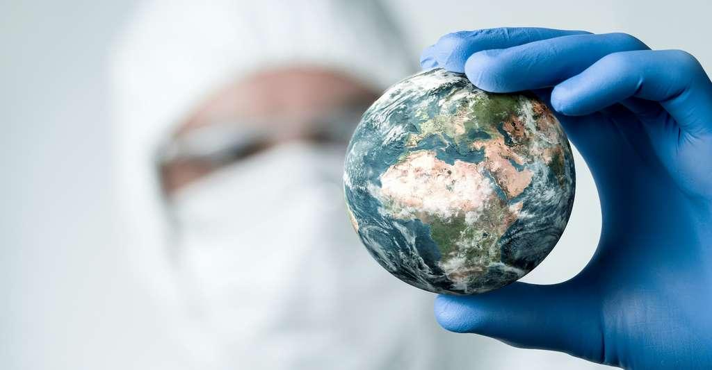 Face à l'inaction climatique, des chercheurs réfléchissent à une solution qui pourrait nous aider à vivre avec le réchauffement : intervenir à grande échelle sur le climat de notre Planète. © rangizzz, Adobe Stock