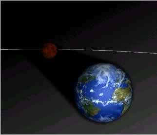 Éclipse totale de Lune. © DR