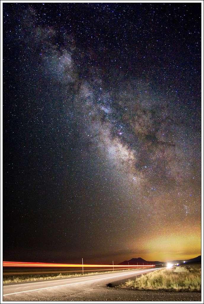 La grande route de la Voie lactée