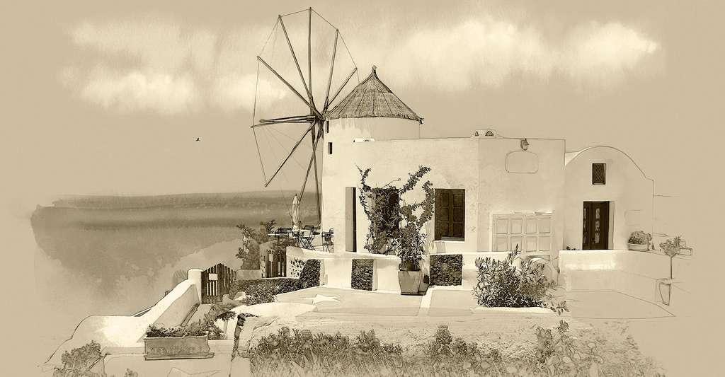 Les villes grecques se sont accrochées à leur système arbitraire de temps, et ce jusqu'en 200 de notre ère. © Old Landscape, Shutterstock