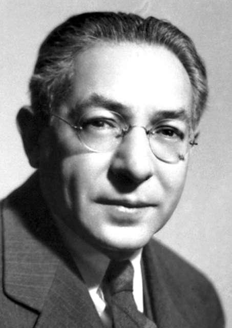Isidor Isaac Rabi (1898-1988) était un physicien américain, lauréat du prix Nobel de physique en 1944 « pour sa méthode de résonance servant à enregistrer les propriétés magnétiques du noyau atomique ». Ses recherches ont contribué à l'invention du laser et de l'horloge atomique. Il fut l'un des fondateurs du Cern. © Nobel Foundation
