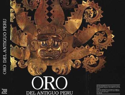 Oro del antiguo Peru.
