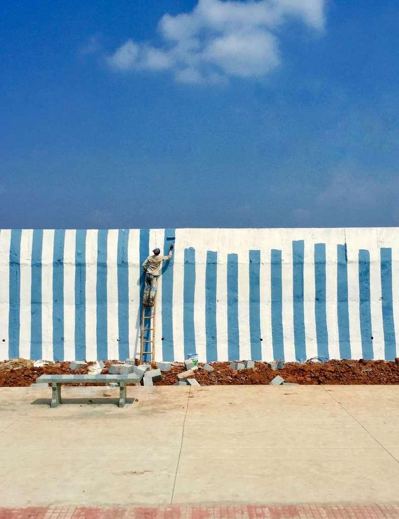 Première place pour le photographe de l'année : Artsiom Baryshau avec « No Walls ». © Artsiom Baryshau, Apple