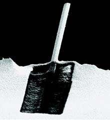Nanotransistor observé au microscope à balayage électronique.