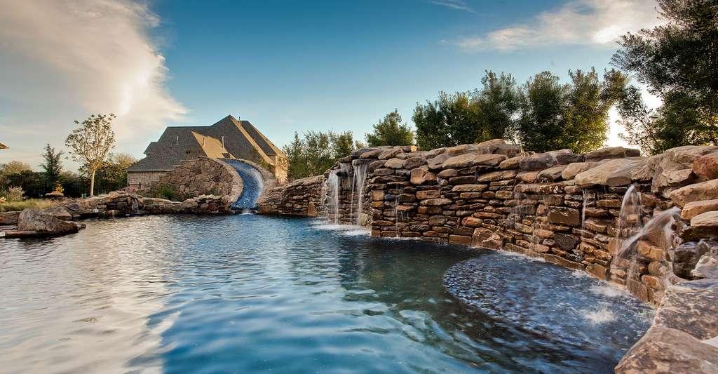 La piscine naturelle est également appelée piscine écologique. © David Gaona, CC BY-NC 2.0