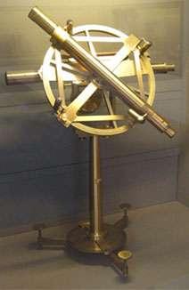 Cercle répétiteur utilisé par Delambre et Méchain. © DR