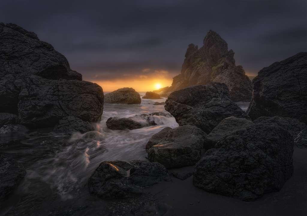 Cœur du dragon, Oregon, États-unis
