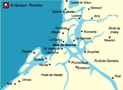 Baie de Somme au temps des Romains