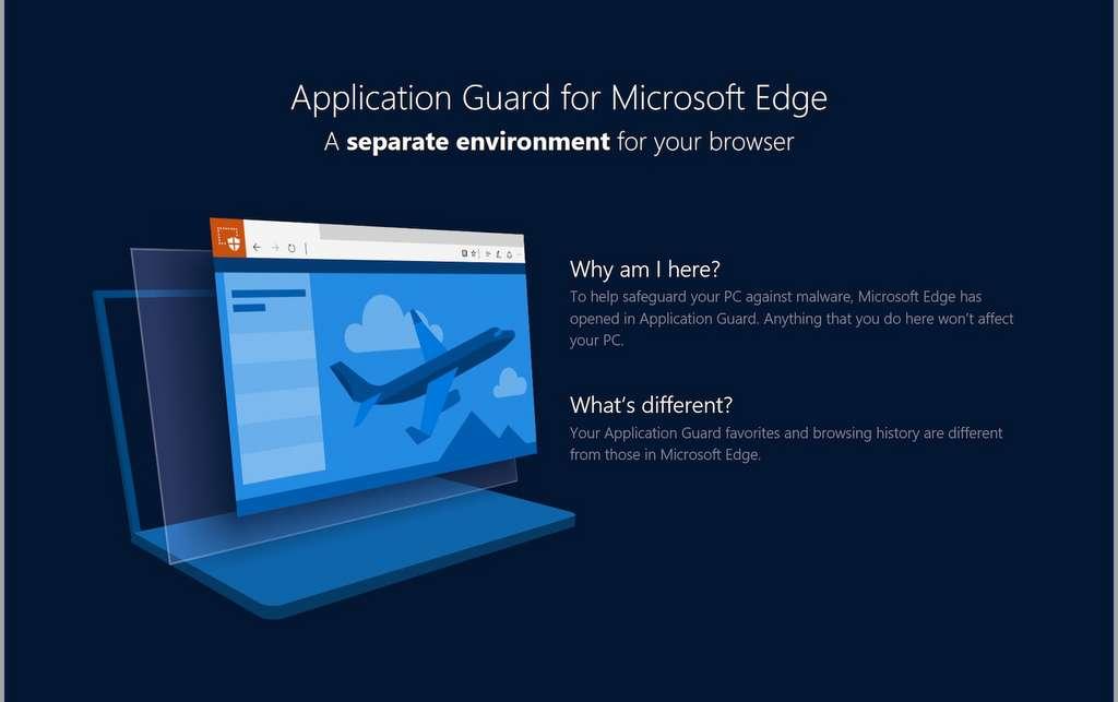 L'extension Application Guard pour mieux protéger la navigation sous Firefox et Chrome