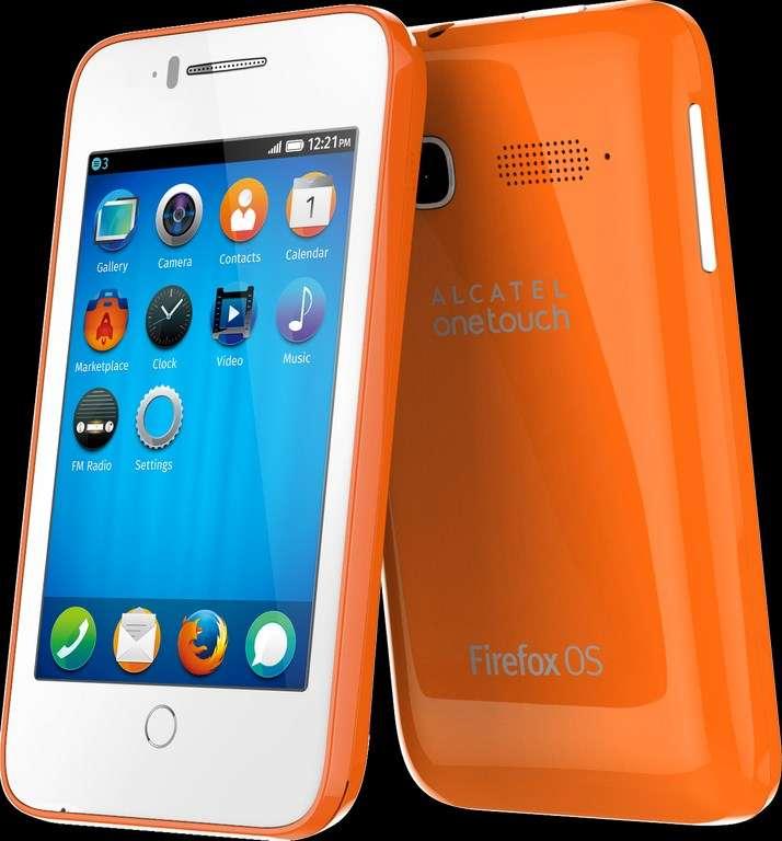 Alcatel est avec ZTE le premier constructeur à avoir misé sur Firefox OS. Son smartphone One Touch Fire C est équipé d'un écran 3,5 pouces et d'un system on a chip double cœur. Sa sortie est prévue en juin. © Alcatel