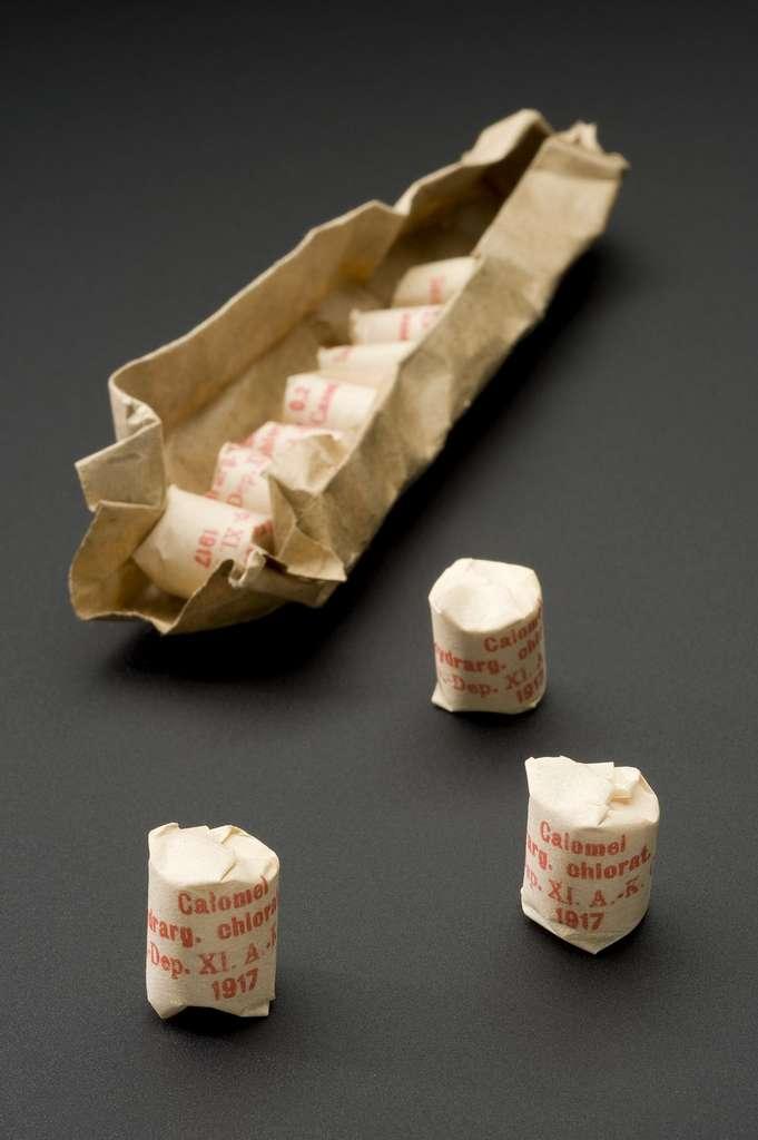Le calomel pourrait bien être à l'origine de l'état déplorable des dents de George Washington. © Wellcome Collection