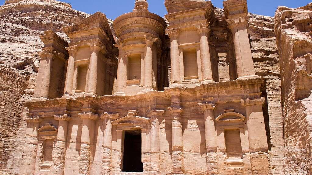 Pétra, les monuments troglodytes