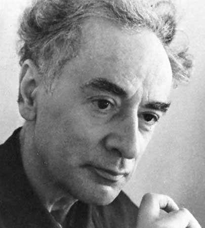 Lev Landau, prix Nobel de physique (Crédit : USSR Magazine—Sovfoto).