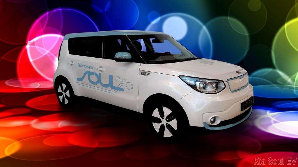 La Kia Soul EV, un crossover électrique