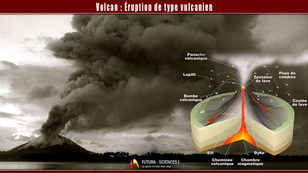 Éruption vulcanienne. © Sémhur, Taro Taylor, CC by-sa 3.0