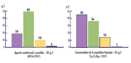 Les acides gras sont la principale source d'énergie de notre organisme. Ils sont regroupés par famille en fonction du nombre d'insaturations qu'ils renferment : les acides gras saturés ne possèdent pas d'insaturation, les acides gras mono-insaturés en possèdent une, et les acides gras poly-insaturés (ou AGPI) en ont au moins deux. Dans la famille des w3, la première insaturation est portée par le 3e atome de carbone, et dans la famille des w6, par le 6e.