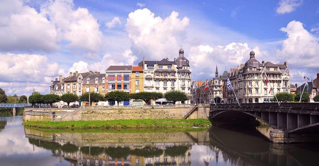 Vue de Charleville-Mézières. © Elizaveta Butry, Wikimedia, CC by-sa 4.0