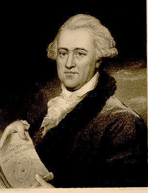 William Herschel le père de John Herschel (Crédit : georgian index).