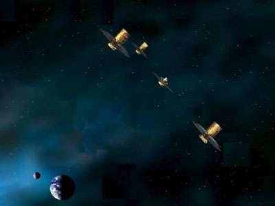 Les télescopes spatiaux d'Irsi tenteront de détecter une activité biologique dans des atmosphères planétaires. © DR