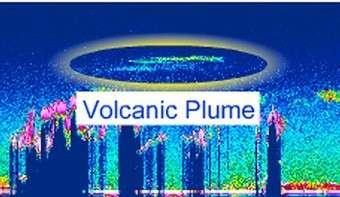 Les éjections volcaniques observées par Calipso témoignent de la grande sensitivité de son Lidar (Crédits : NASA Langley Research Center)