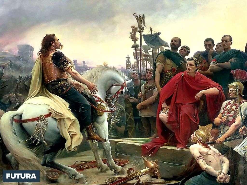 Le siège d'Alésia voit la défaite de Vercingétorix face à Jules César en 52 av. J.-C..