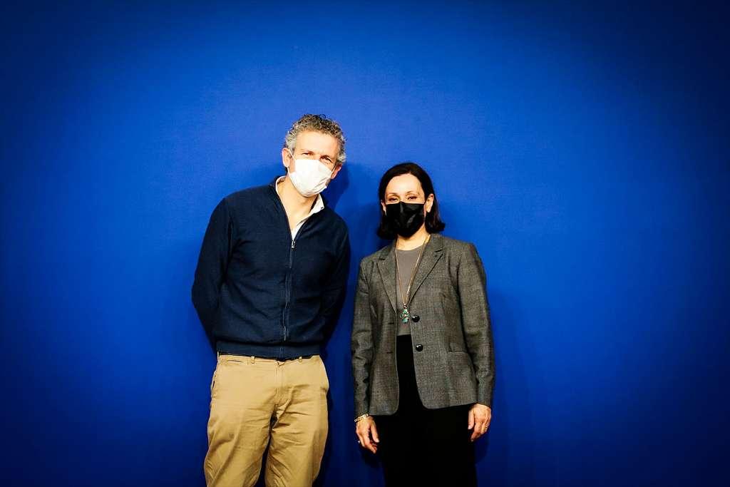Gilles Babinet et Françoise Mercadal-Delasalles, coprésidents du CNNum. © CNNum, tous droits réservés
