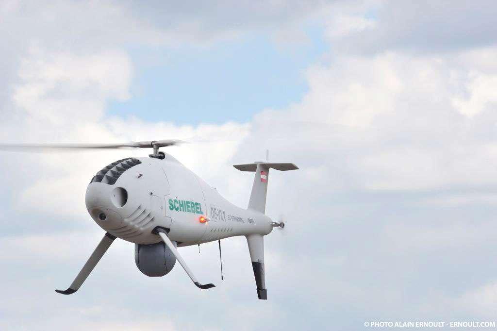 Le Camcopter, un drone hélicoptère