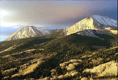 La Sal Mountain Utah