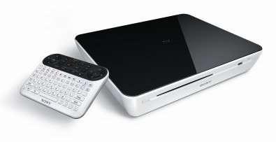 Le lecteur Blu-ray NSZ-GT1, à brancher sur un téléviseur, donne accès aux services de Google TV. © Sony