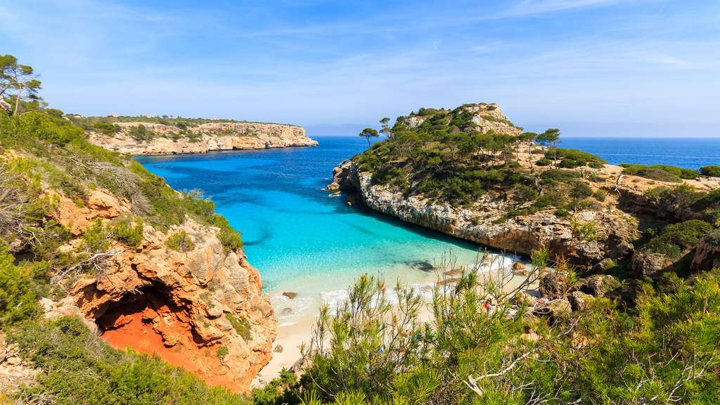 La plage Cala des Moro, la magie d'une crique