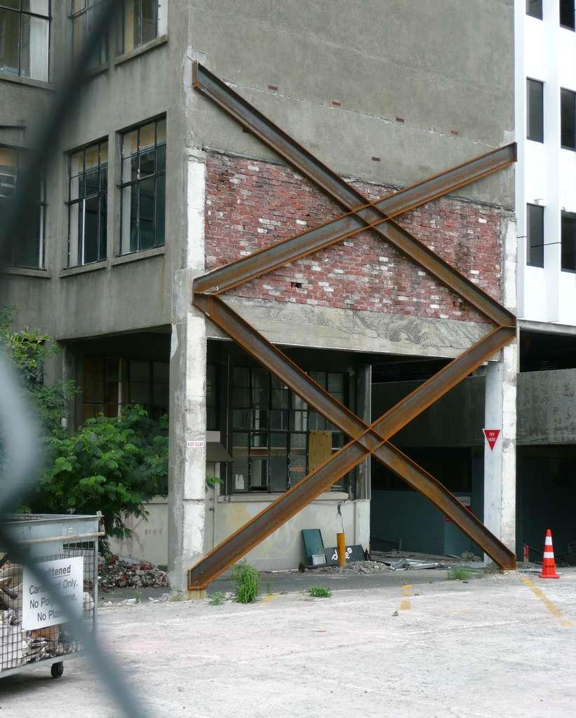 Le séisme de Christchurch en février 2011 a fait 185 victimes. © Marlène Beyerle