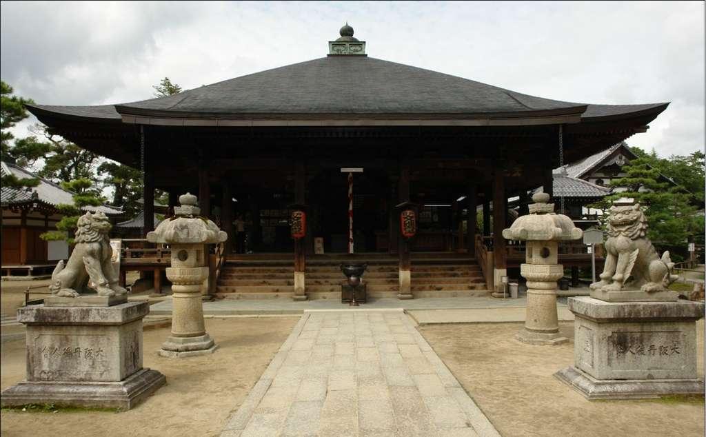 L'architecture japonaise, fortement influencée par l'architecture chinoise est très ancienne, et reconnaissable entre toutes. © JNT