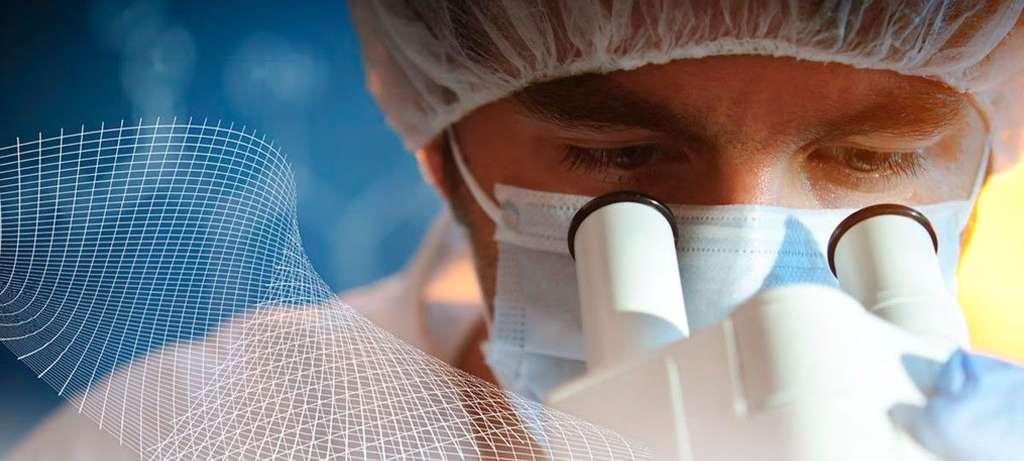 La médecine de demain pourra se servir des analyses issues du big data. Cette médecine se prépare notamment dans des centres comme celui du Campus Biotech, en Suisse. © Campus Biotech