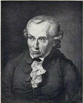 Emmanuel Kant. Crédit : www.ac-grenoble.fr/PhiloSophie