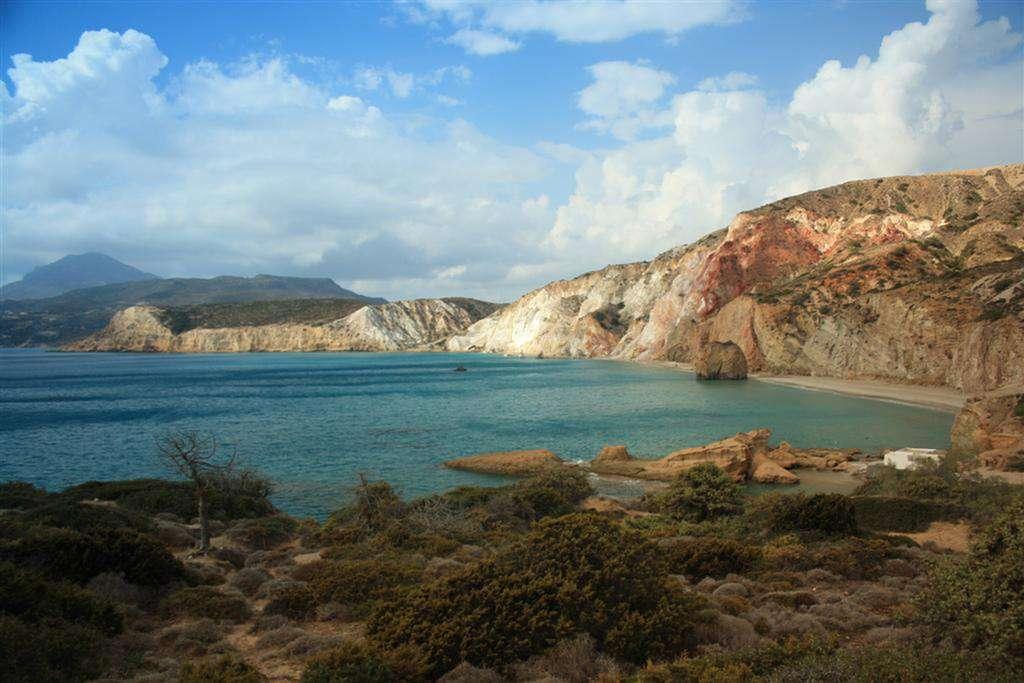 Les plages de Milos. © Agisfere, cc by 3.0