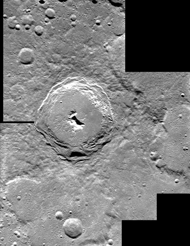 SMART-1 - Cratère Pythagoras