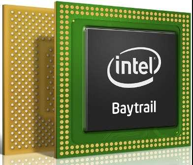 Avec ses nouveaux SoC Atom Z issus de la plateforme Bay Trail, Intel revient sur le marché des terminaux mobiles avec de sérieux arguments techniques pour les performances et l'autonomie. © Intel