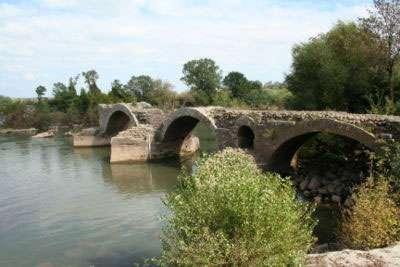 Pont romain de St-Thibery. © Faguerolles