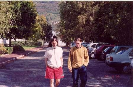 Aurélien Barrau (à gauche) et Julien Grain. Crédit : Aurélien Barrau