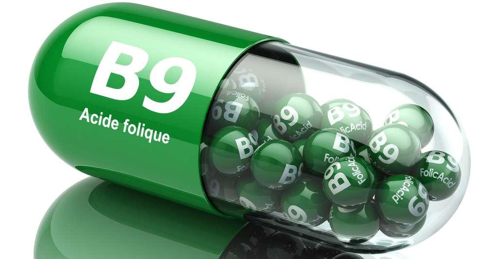 La vitamine B9, ou acide folique, a des bénéfices scientifiquement prouvés. © Maxx-Studio, Shutterstock