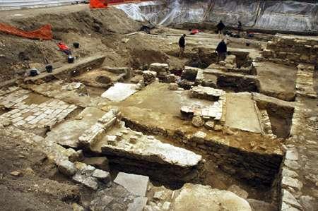 Fouilles d'une maison romaine du IIe siècle de notre ère. Site archéologique campus Curie, Paris © L. de Cargouët/Inrap