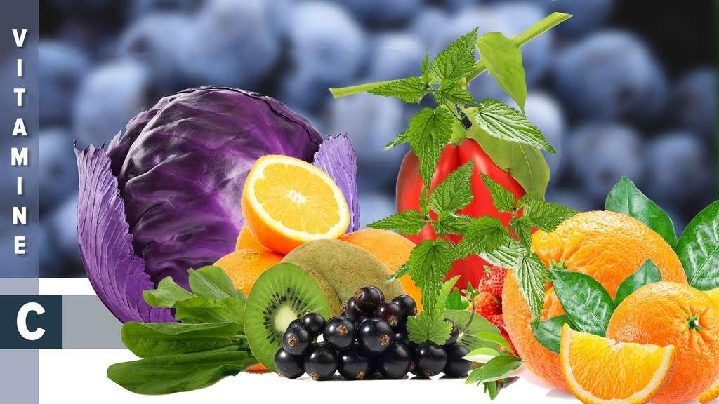 La vitamine C, une vitamine antioxydante