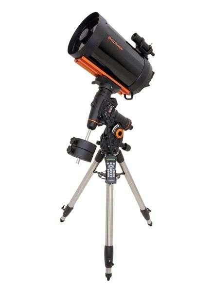 Un télescope « Schmidt Cassegrain » sur monture équatoriale. © Celestron - Tous droits réservés
