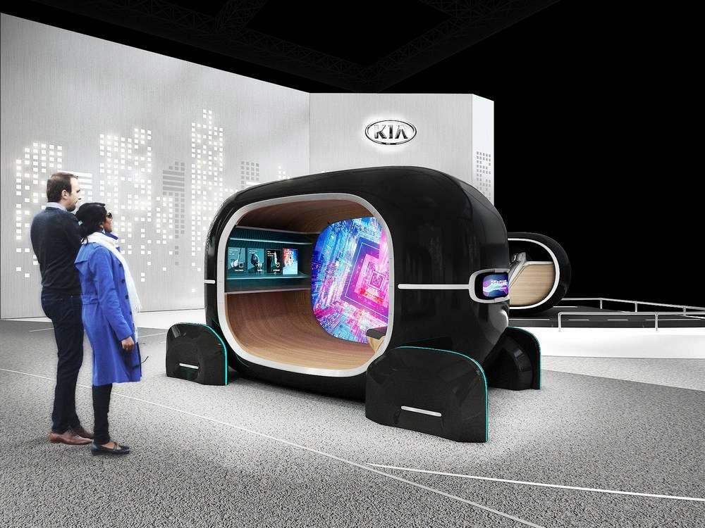 Le système Read peut optimiser et personnaliser l'habitacle d'un véhicule en analysant l'état émotionnel du conducteur en temps réel. © Kia Motors