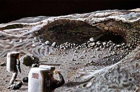 Exploration lunaire. Crédit Nasa